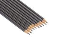 Black pencils. Royalty Free Stock Photos