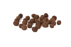 Black pepper. On white background close-up Stock Photo