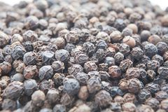 Black pepper background Royalty Free Stock Photos
