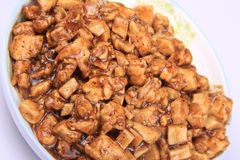 Black pepper Chicken Royalty Free Stock Image