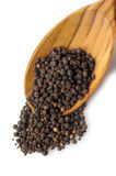 Black pepper corns Royalty Free Stock Image