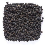 Black Pepper Corns Stock Photo