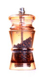 Black pepper grinder Stock Photo