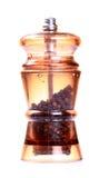 Black pepper grinder Stock Photo