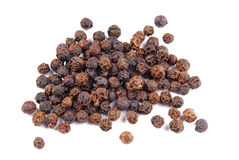 Black pepper isolated Stock Photos