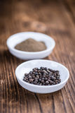 Black Pepper (milled) Royalty Free Stock Photography