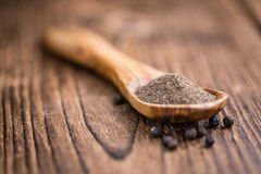 Black Pepper (milled) Royalty Free Stock Photo