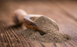 Black Pepper (milled) Royalty Free Stock Photos