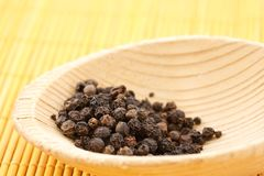 Black pepper peas Stock Photo