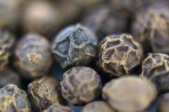 Black pepper peppercorns Stock Photo