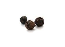 Black pepper seeds Stock Image