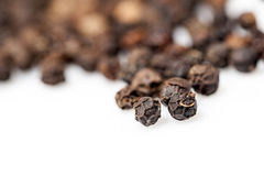 Black pepper seeds Stock Photo
