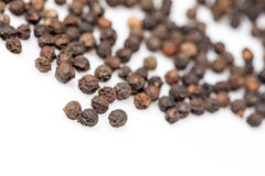 Black pepper seeds Royalty Free Stock Photography