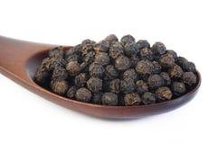 Black pepper seeds Stock Photo