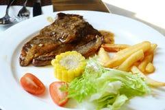 black pepper steak Royalty Free Stock Photos