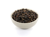 Black peppercorn Royalty Free Stock Photography