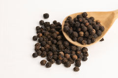 Black peppercorn Stock Photography