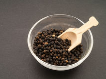 Black Peppercorns Royalty Free Stock Photography