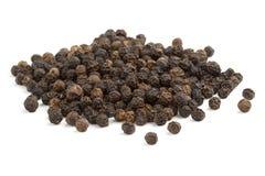 Black peppercorns Royalty Free Stock Photo
