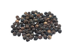 Black peppers Royalty Free Stock Photography