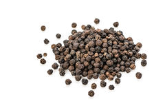 Black peppers Stock Photo
