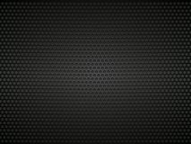 Black perforated metal background. Modern style vector illustration