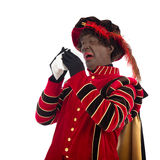 Black Pete with a cold Royalty Free Stock Image