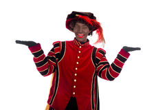 Black Pete showing object Stock Photography