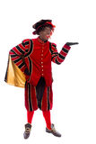 Black Pete showing object Stock Photo