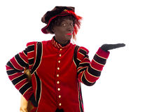 Black Pete showing object Stock Photos