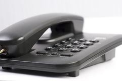 Black phone Royalty Free Stock Images