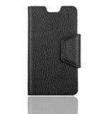 Black phone case Stock Image