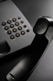 Black phone Stock Images