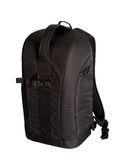 Black photo backpack Stock Image