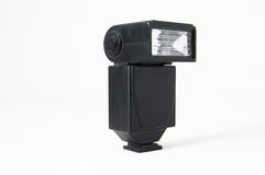 Black Photo Camera Flash Royalty Free Stock Images