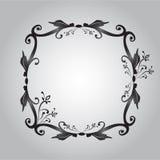 Black photo frame Royalty Free Stock Images