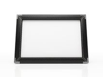Black photo frame Royalty Free Stock Photos