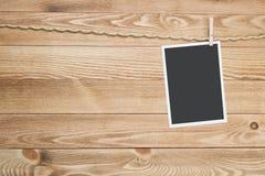 Black photo frame Royalty Free Stock Image