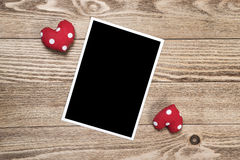 Black photo frame Royalty Free Stock Photo
