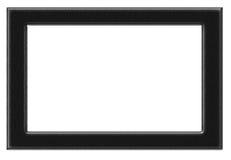 Black photo frame Stock Images