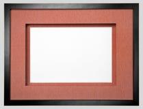 Black photo frame Stock Photo