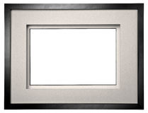 Black photo frame Royalty Free Stock Photography