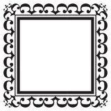 Black photo frame Royalty Free Stock Images