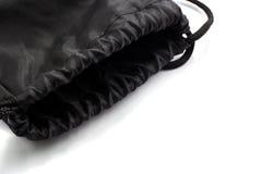 Black photo knapsack Stock Image