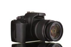 Black photocamera Stock Image