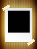 Black photography. Photography over  sepia  background. blank illustration Royalty Free Stock Photo