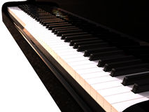 Black piano Royalty Free Stock Images
