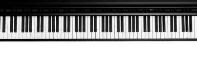 Black piano Royalty Free Stock Photography