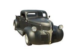 black pickup retro truck Στοκ Εικόνα