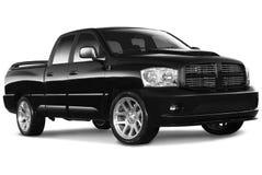 Black Pickup Truck Stock Photos
